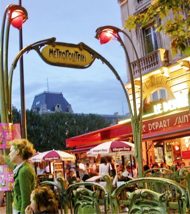 At a Paris Café