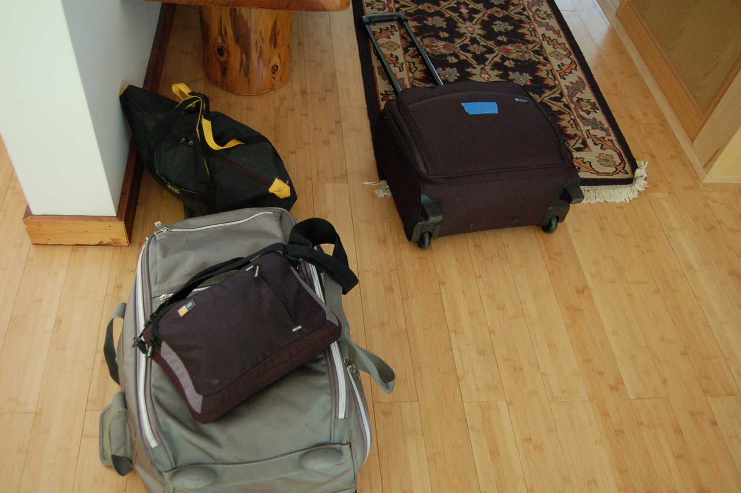 Packing Lightly ― Travel in Fiction and in Life